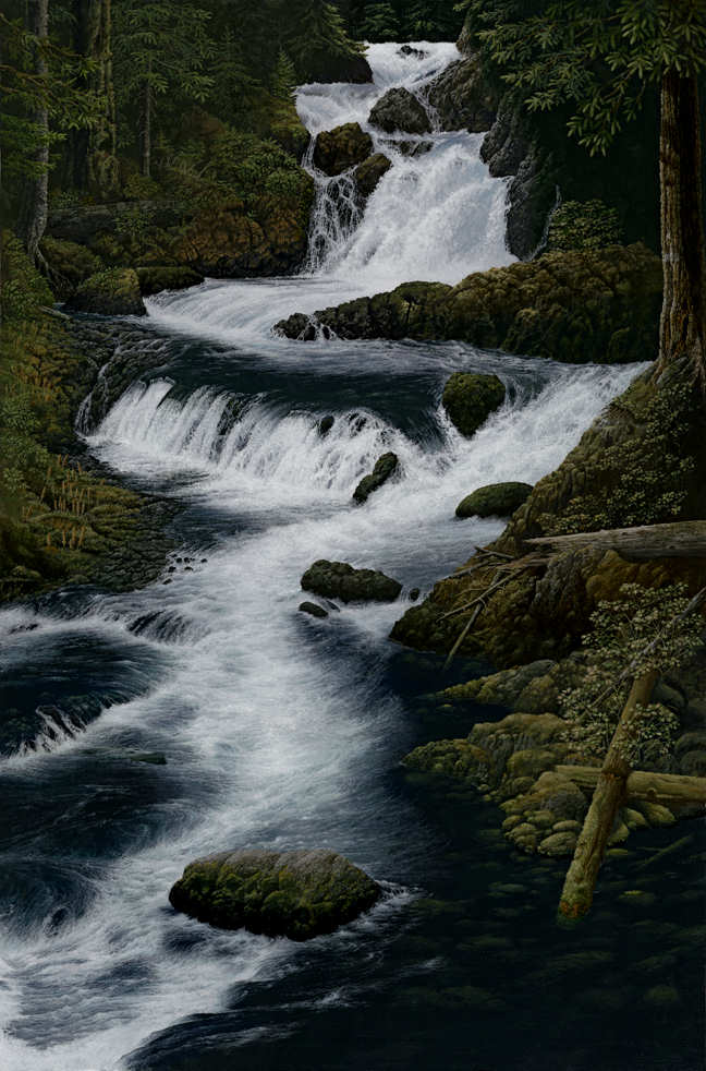 River of Life (c)2006 by Craig Erickson McKenzie River Painting